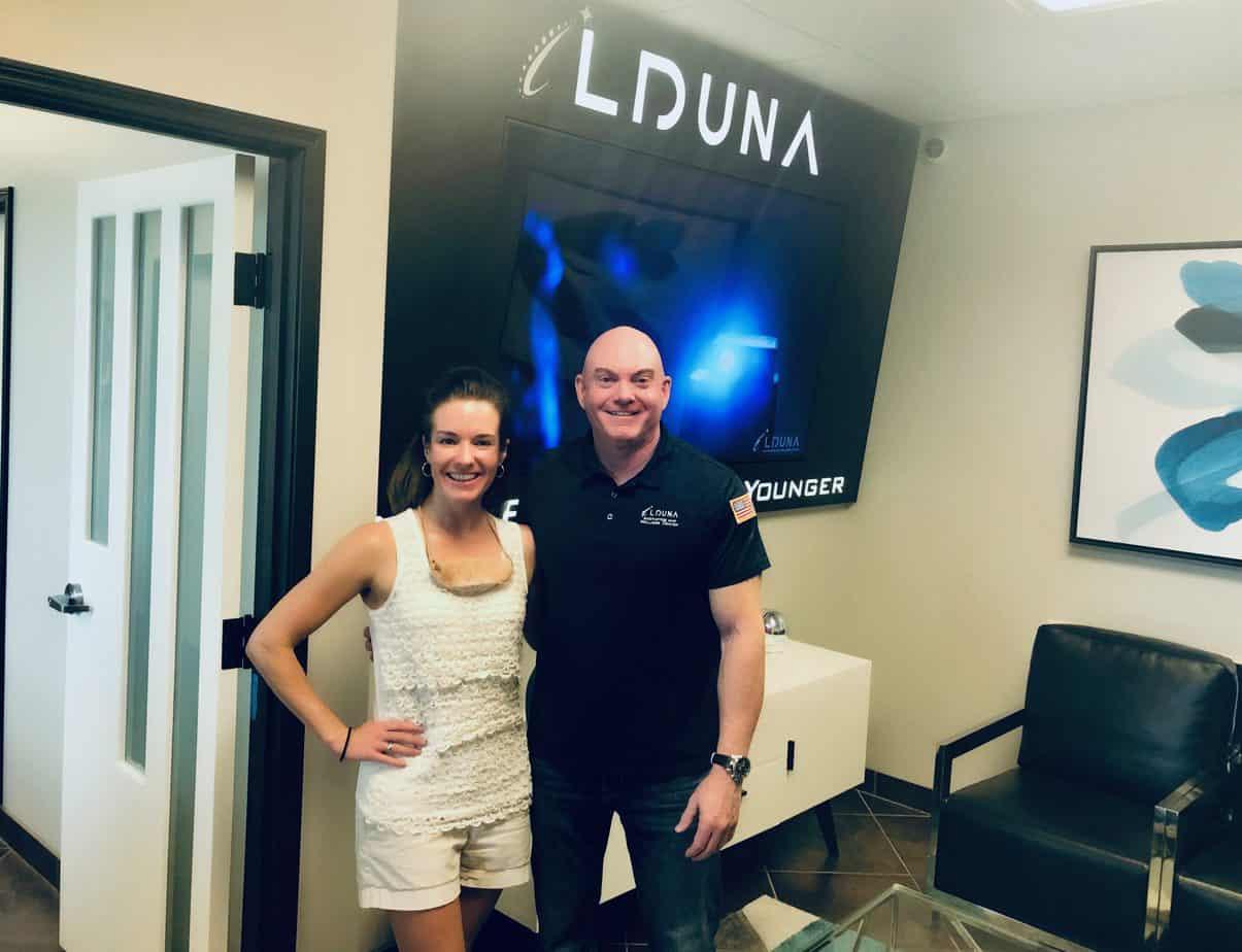 Thank you Lduna Aesthetics and Wellness Center!